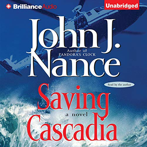 Saving Cascadia audiobook cover art