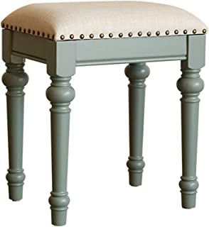 Chair Stool Vintage Retro Dressing Table Stool Padded Chair Makeup Piano Seat (Color : C),Colour:C (Color : A)