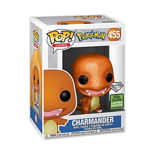 Funko POP! Games: Pokemon Charmander 455 Diamond Collection ( ECCC 2021 Shared Exclusive)