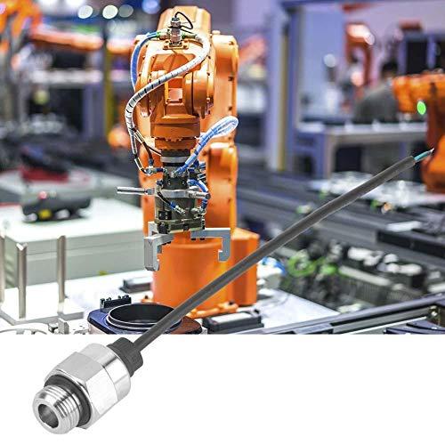 AMONIDA 【𝐎𝐬𝐭𝐞𝐫𝐧】 Piezowiderstand aus kleinem Edelstahlgehäuse, Kleiner Druckmessumformer, Drucksensor, für Wasserdruckprüfungen in der Schiffsbauindustrie(0~10BAR)