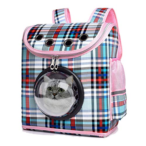 Slow Time Shop Pet Carrier Backpack,Portable Space Capsule Bubble Backpack for Small Cats and Dogs,Airline-Approved, Designed for Travel, Hiking, Walking & Outdoor Use,Best Gift for Your Pets
