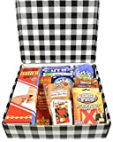 Gift Basket Village Fun and Games Family Care Package Filled with Games Activities and Snacks to Share or not. Perfect GetWell or Family Fun Night, Original, 1 Count