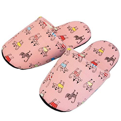 子供用 スリッパ ウィンクキャットソフト 20cm 日本製 静音 洗える 猫 かわいい 職人 ピンク