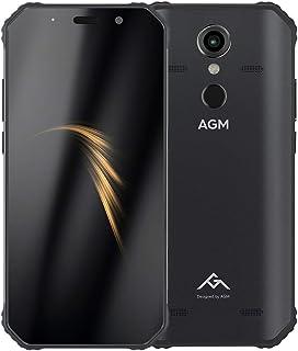 MDY AYSMG A9 Rugged Phone, 4GB+64GB, IP68 Waterproof Dustproof Shockproof, Fingerprint Identification, 5400mAh Battery, 5.99 inch Android 8.1 Qualcomm SDM450 Octa Core, Network: 4G, OTG, NFC(Black) MD