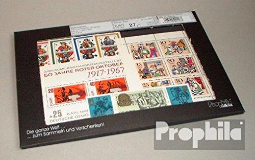 Prophila Collection DDR 1967 kompletter Jahrgang in sauberer Erhaltung (Briefmarken für Sammler)