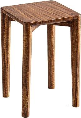FUHBO Stool Home Wooden Sofa Stool Corridor Bathroom Change Shoes Stool Living Room Bedroom Coffee Table Stool Gift