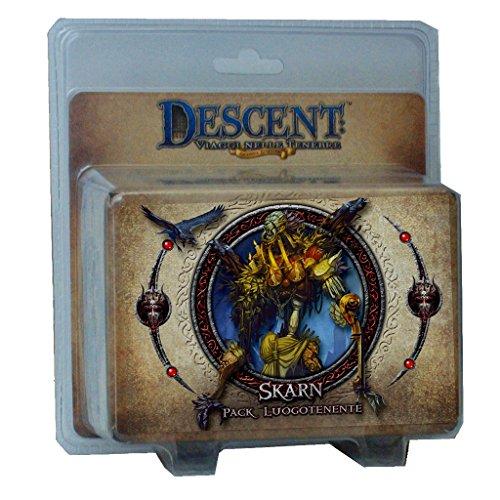 Giochi Uniti- Luogotenente Skarn, Accessorio per Descent Runebound, Multicolore, GU272