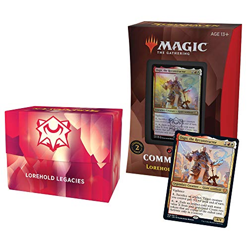 Magic The Gathering Strixhaven Commander Deck - Lorehold (Red-White)