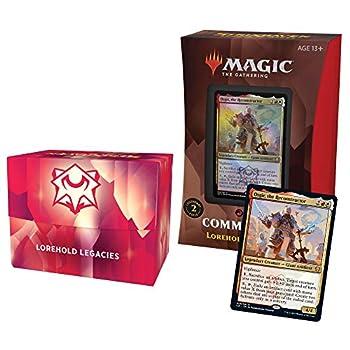 Magic The Gathering Strixhaven Commander Deck – Lorehold Legacies  Red-White