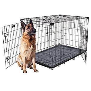 Lucky Dog Cage pour Chien 107 L x 71 W x 78.74cm H
