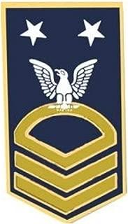 HMC Navy Master Chief Petty Officer (MCPO/E-9) Sleeve Rank Insignia Pin - 14401 (1 3/8 inch)