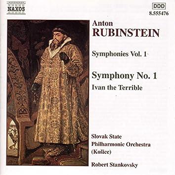 Rubinstein: Symphony No. 1 / Ivan the Terrible