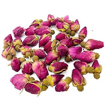 2.99oz/85g Pink Rose Buds Tea Organic Red Rose Tea Flowers Dried Rosebud Small Edible Fragrant Loose Leaf Natural Herbal Rose Petal