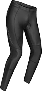 Przewalski Men's Compression Cycling Tights Padded Workout Leggings Wicking Biking Pants