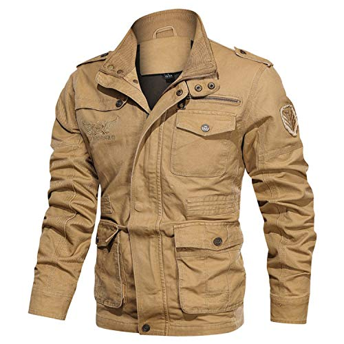 Men Military Jacket Outfit Ideas