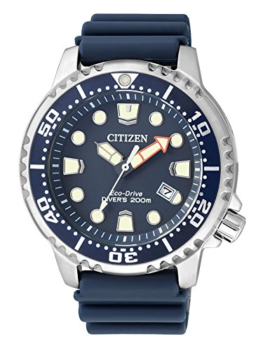 Citizen Reloj Analógico para Hombre de Cuarzo con Correa en Plástico BN0151-17L