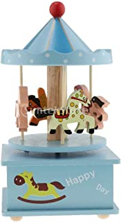 Music Boxes - Wooden Rotating Horse Merry Go Round Music Box Xmas Birthday Gift Decor - 20 In Showman En Playing Anime Lord Photo Hand Somewhere