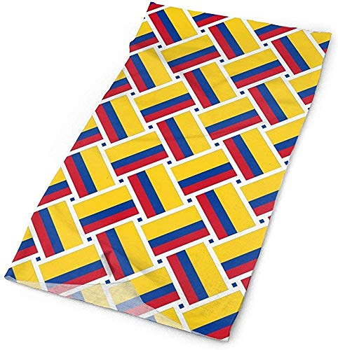 Keyboard cover Gorro para deportes al aire libre, máscara para el cuello, cinta para la cabeza, pasamontañas, bandana de Colombia One_color. Talla única