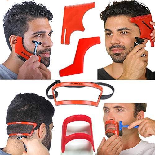 Beard Lineup Tools Beard Shaping Tool Barber Supplies Beard Kit For Bevel Trimmer Beard Template product image