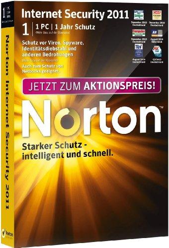 Norton Internet Security 2011 - 1 User Promo