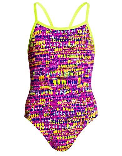 Funkita Badeanzug Dotty Dash für Mädchen, Bitte Größe wählen:152