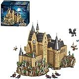 Edificio Modular Harry Potter Hogwarts Castle, 6188 Piezas Hogwarts Castle Upgrade Custom Building Blocks Compatibles con Lego 71043 Harry Potter Hogwarts Castle