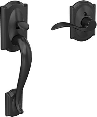 Camelot Front Entry Handle Accent Right Handed Interior Lever Aged Bronze Fe285 Cam 716 Acc Rh Door Handles Amazon Com