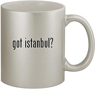 got istanbul? - 11oz Silver Coffee Mug Cup, Silver
