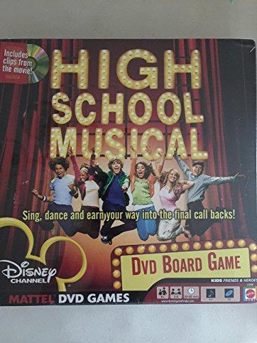 Disney Channel's High School Musical DVD Board Game