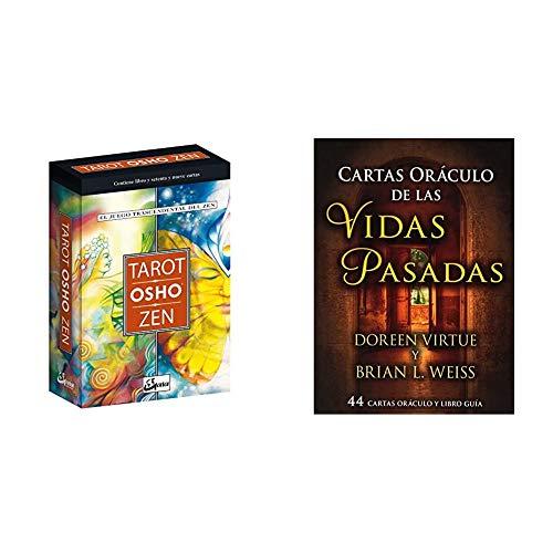 Tarot Osho Zen: el Juego Trascendental Del Zen (Tarot, oráculos, juegos y vídeos) + Cartas Oráculo De Las Vidas Pasadas: 44 cartas oráculo y libro guía