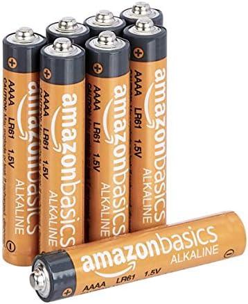 Amazon Basics 4 Pack AAAA High-Performance Alkaline Batteries, 3-Year Shelf Life