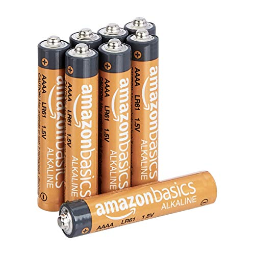 Amazon Basics Everyday AAAA-Alkalibatterien, 1,5V, 8 Stück (Aussehen kann variieren)