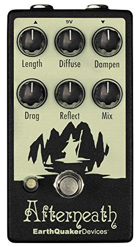 EarthQuaker Devices Afterneath V2 Reverb Guitar Effects Pedal