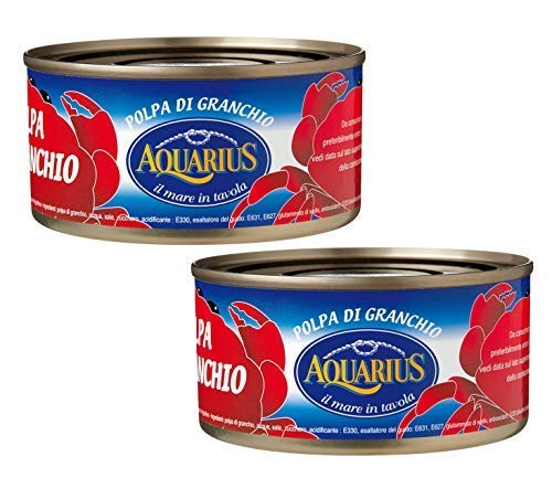 Aquarius Polpa di Granchio in Salamoia - 2 x 170 Gram