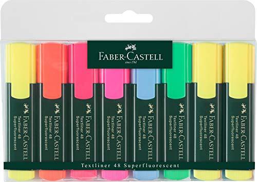 Faber Castell 154862 Evidenziatore Textliner, (Pacco da 8)