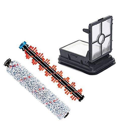 ZRNG Multisurface Brosse Rouleau et Filtre Set for Bissell Crosswave 1785 Series Pièces détachées Aspirateur (Color : Multi)