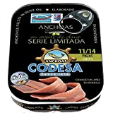 Filetes De Anchoa En Aceite De Oliva Virgen Extra Codesa Serie Limitada 10/12 Piezas 85 G.