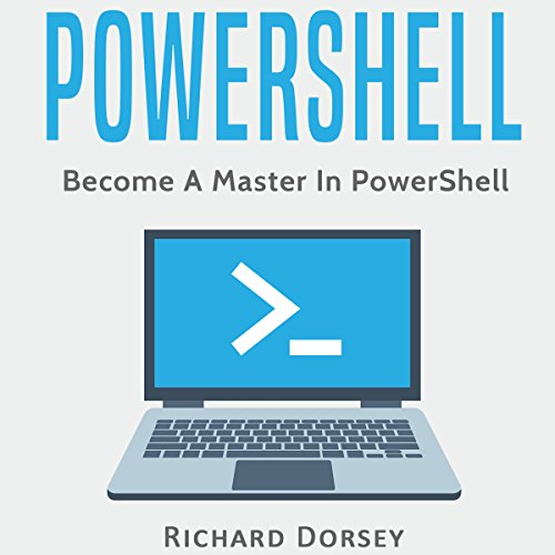 Powershell: Become a Master in Powershell audiobook cover art