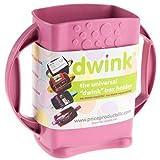 Dwink Universal Juice Pouch Milk Box Holder (Pink)