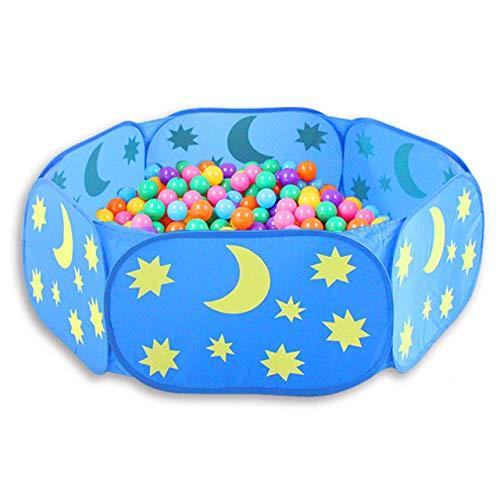 Parque infantil plegable Hexagon Star Moon Balls Pool Pit Pool Outdoor Outdoor...