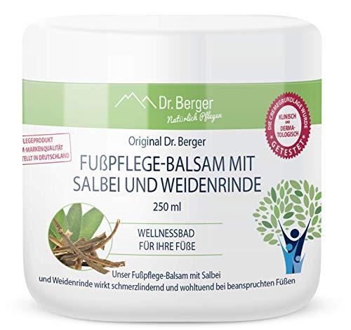 Original Dr. Berger Fusspflege Balsam mit Salbei und Weidenrinde Naturkosmetik