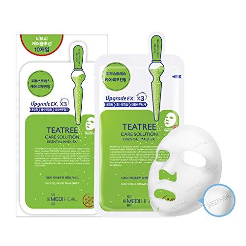 MEDIHEAL Teatree Care Solution Essential Mask EX. 25ml Pack of 10