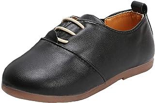 WUIWUIYU Garçons Filles Slip on Mocassins Oxford Mode Chaussures De Marche