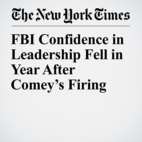 FBI Confidence in Leadership Fell in Year After Comey's Firing copertina