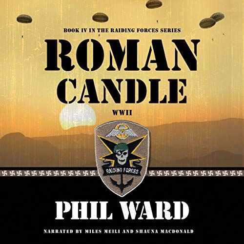Roman Candle audiobook cover art