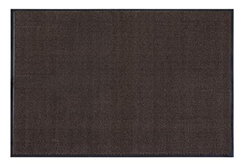 andiamo colector de Suciedad, colchoneta de polipropileno-60 x 80 cm Marrón Felpudo Acrílico, 60 x 80 cm