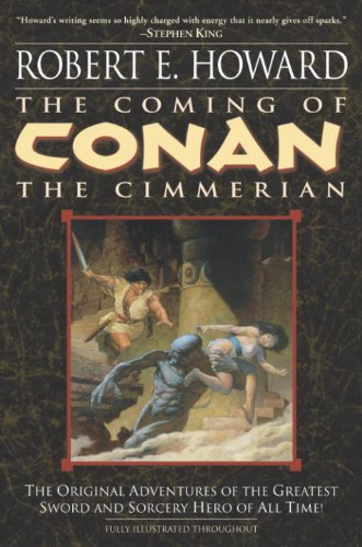 The Coming of Conan the Cimmerian (Conan the Barbarian Book 1) by [Robert E. Howard, Mark Schultz, Patrice Louinet]