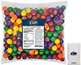 Nerds Filled Gumballs 5 lb Bulk Bag with By The Cup Sugar-Free Mints