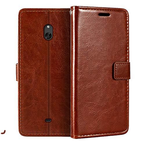 Nokia Lumia 1320 - Funda tipo libro para Nokia Lumia 1320 (piel...