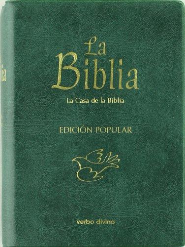 La Biblia - Edición popular (Plástico): (cubierta plástico) (La Biblia (Texto 'La Casa de la Biblia'))